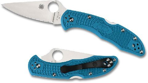 Spyderco Delica 4 Flat Ground FRN review