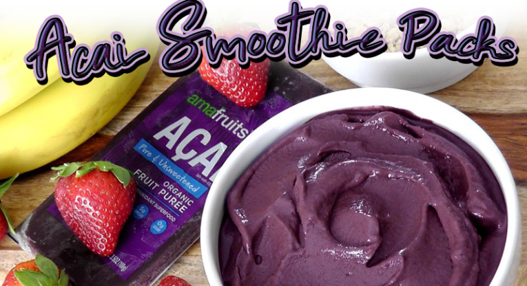 Acai Smoothie Packs at Costco