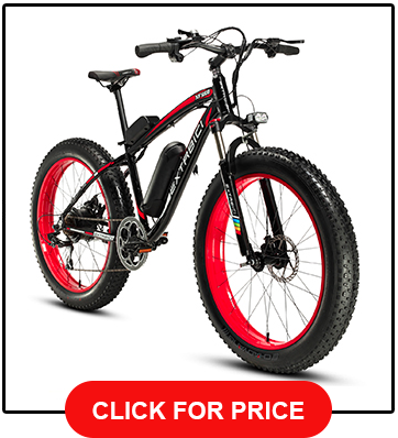 Cyrusher Extrabici XF660-26inch fat tire electric bike