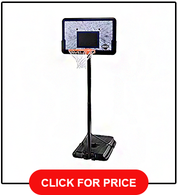 Lifetime 1221 Pro Court Height Adjustable Portable 44 Backboard