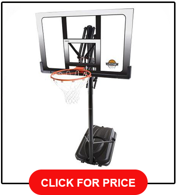 Lifetime 71524 XL Height Adjustable 54 Backboard