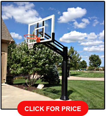 Pro Dunk Gold Best Selling Driveway Hoop 60 Backboard
