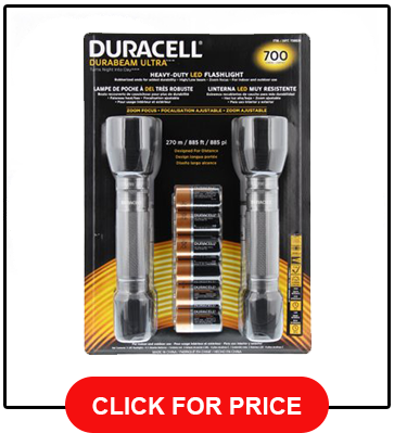 Duracell 2-Pack LED 700 Lumen Flashlight