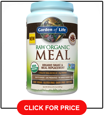 Garden of Life Meal Replacement - Organic Raw Plant Based, Vanilla