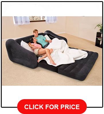 Intex Queen Pull-Out Sofa Inflatable Bed