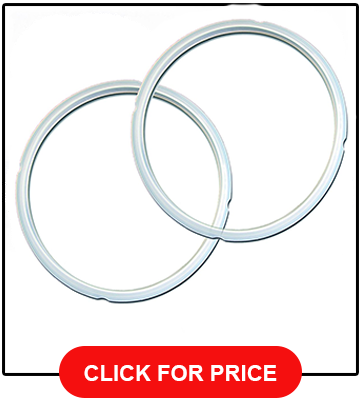 Sealing Ring 2 Pack Clear