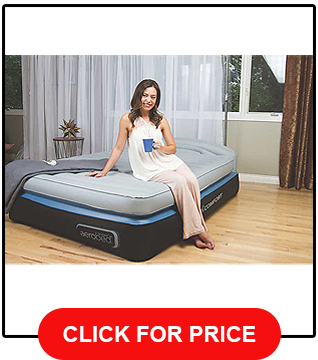 aerobed-opti-comfort-queen-air-mattress-with-headboard review