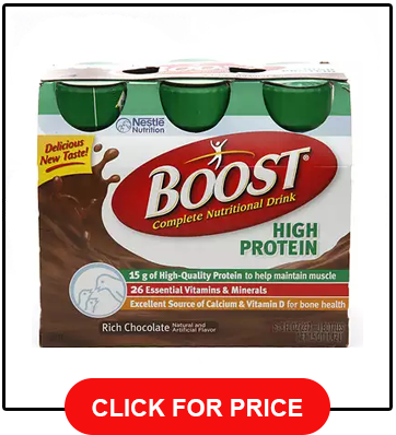 Boost High Protein Chocolate 8 fl oz Bottles