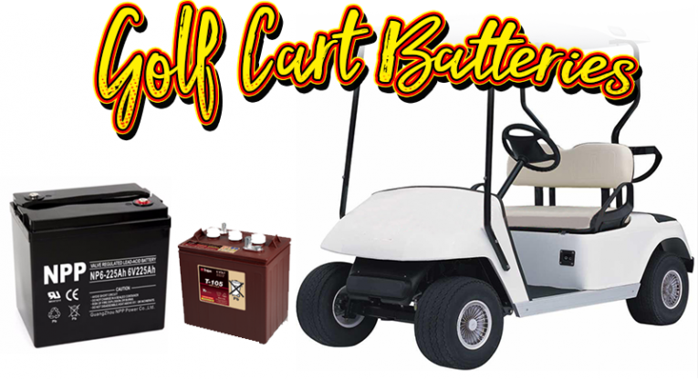 Golf Cart Batteries at Costco