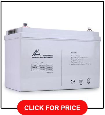 ExpertPower 12v 33ah Rechargeable Deep Cycle Battery