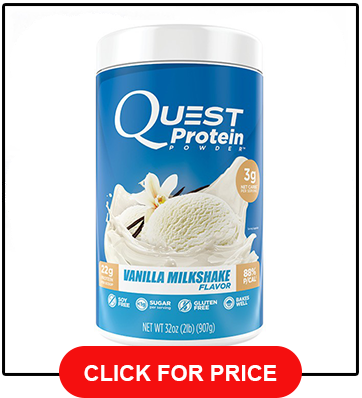 Quest Nutrition 22g Protein Powder, Vanilla