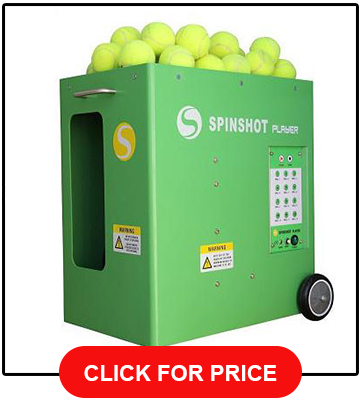 Spinshot Player Tennis Ball Machine w Phone Remote