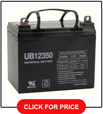 Universal Battery Sealed AGM Gel Golf Cart Battery