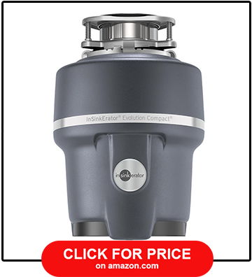 InSinkErator Evolution Compact Garbage Disposal 3-4 HP