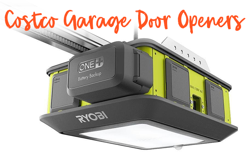 garage door opener at costco