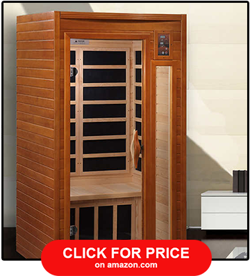 Dynamic Saunas Barcelona 1-2 Person Infrared Sauna