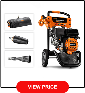 Generac SpeedWash 3200 PSI Gas Powered Pressure Washer