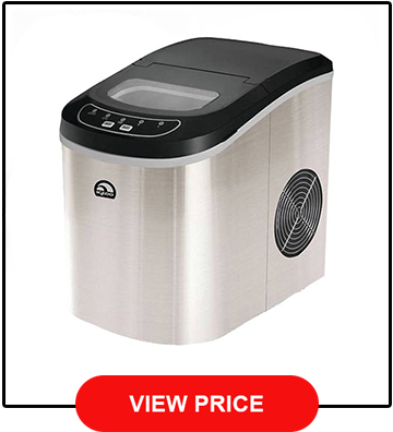 Igloo Counter Top Ice Maker, Stainless Steel