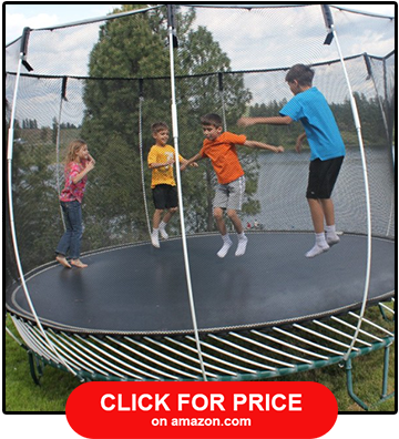 Springfree Large Oval Trampoline