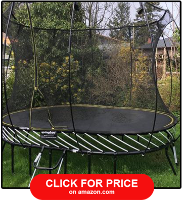 Springfree Medium Oval Trampoline