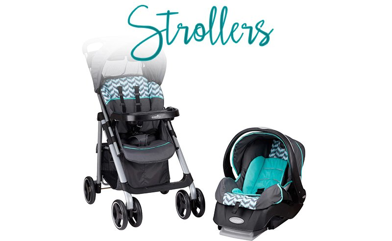 Strollers at Costco
