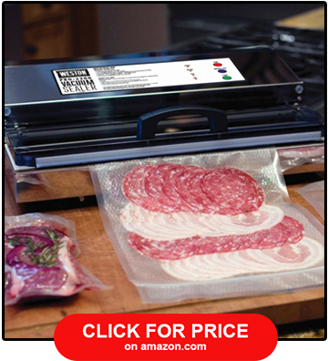 Weston Pro 2300 Commercial Grade Stainless Steel Vacuum Sealer