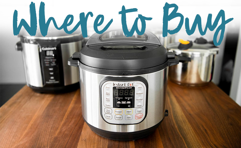 Where to Buy an Instant Pot