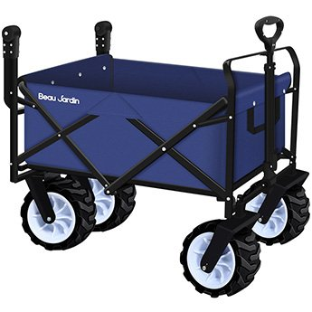 Beau Jardin Folding Push Wagon