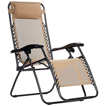 AmazonBasics Outdoor Zero Gravity Lounge