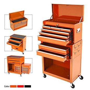 OnShine Eight Drawer Rolling Tool Chest